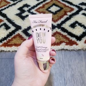 Too Faced Dew You Swan Foundation full coverage